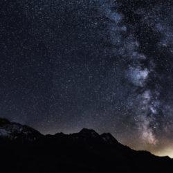 Milchstrasse im Val da Camp Roger Hirt Photography